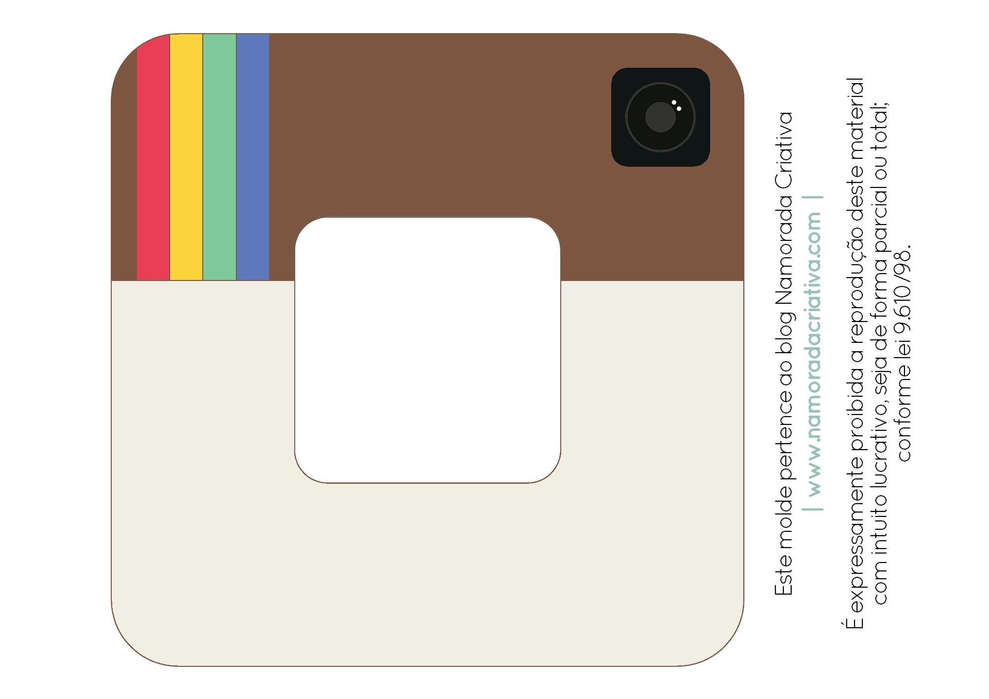 DIY-Porta-retrato-Instagram-Namorada-Criativa-Sem-texto