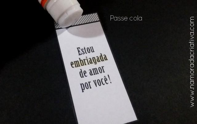 DIY - EMBRIAGADO DE AMOR - NAMORADA CRIATIVA - 02