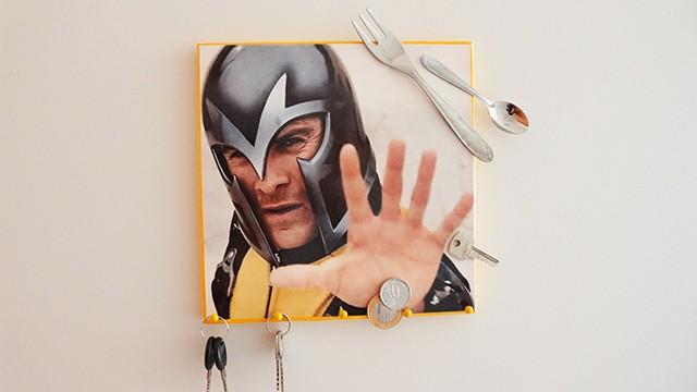 DIY: Quadrinho e Porta-chaves Magneto