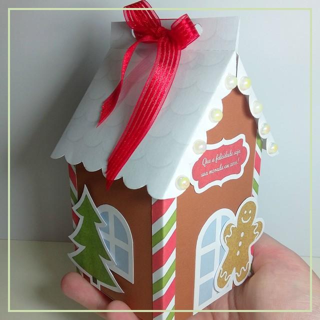 DIY: Caixinha Casinha para o Natal