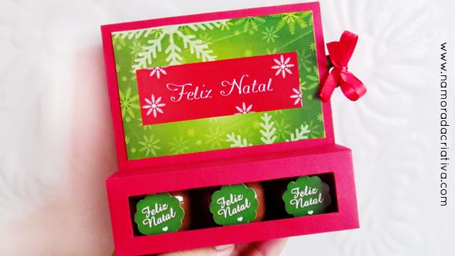 Diy Caixinha Com Bombons Para O Natal Namorada Criativa Por