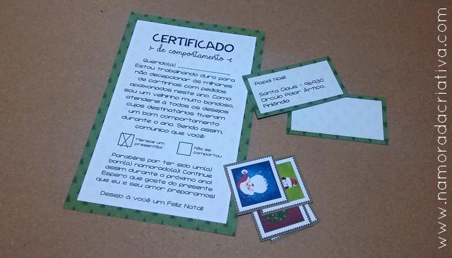DIY NATAL - CERTIFICADO DE COMPORTAMENTO - BLOG NAMORADA CRIATIVA - 02