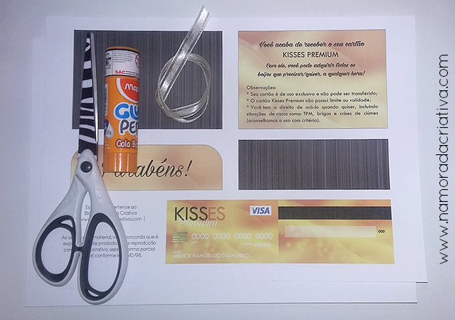 DIY - CARTÃO KISSES PREMIUM - 01