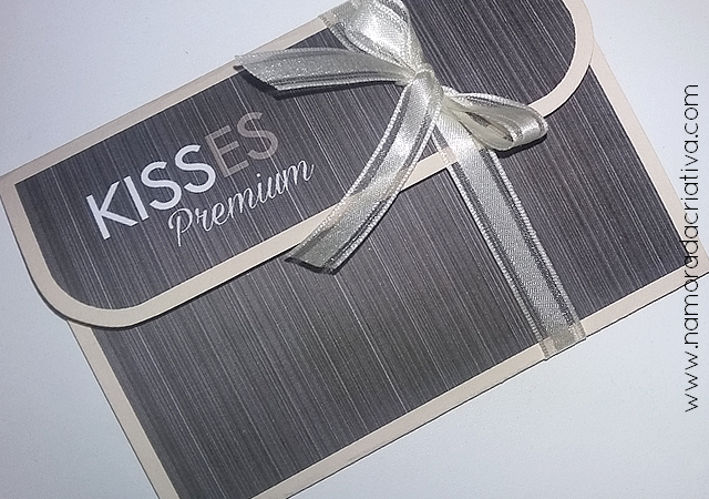 DIY - CARTÃO KISSES PREMIUM - 10