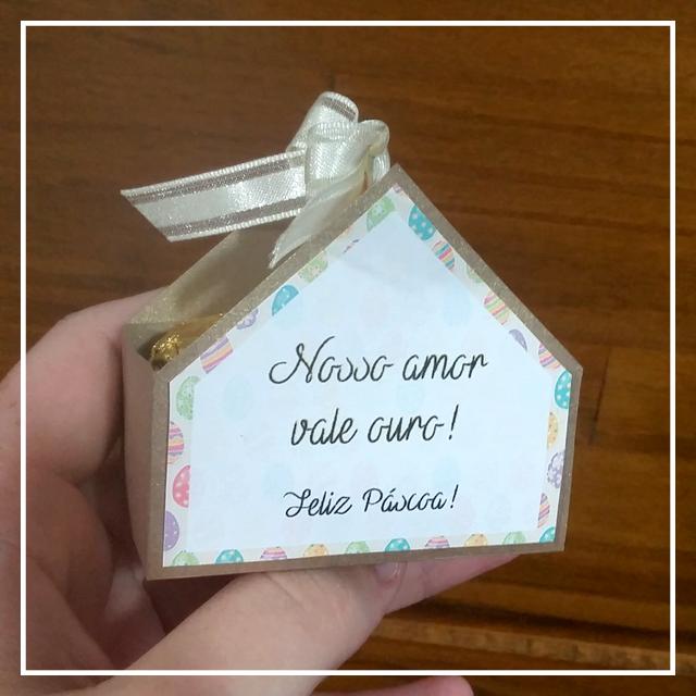 DIY Páscoa – Nosso amor vale ouro!