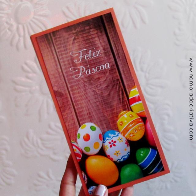 DIY: Cartão de Páscoa