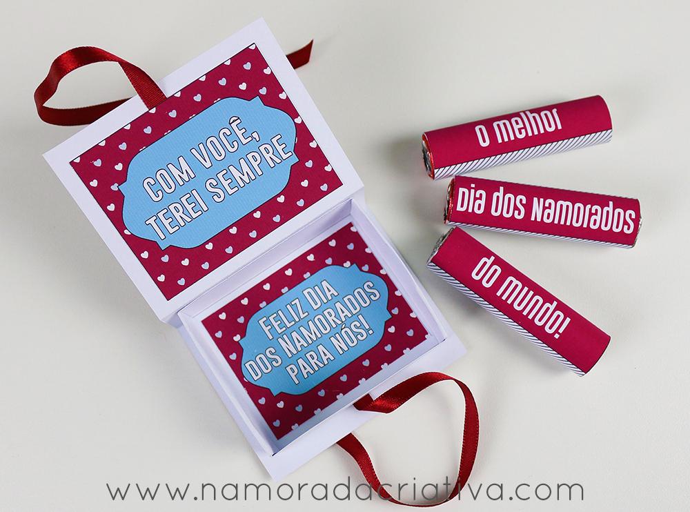 Diy Caixa Com Chocolates Para O Dia Dos Namorados