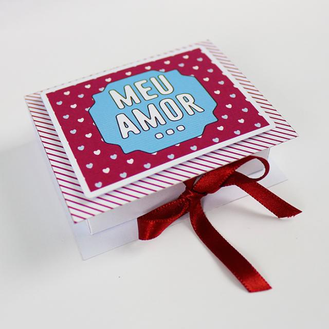 DIY: Cartão/caixa com chocolates para o Dia dos Namorados