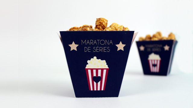 DIY: Kit Maratona de Séries