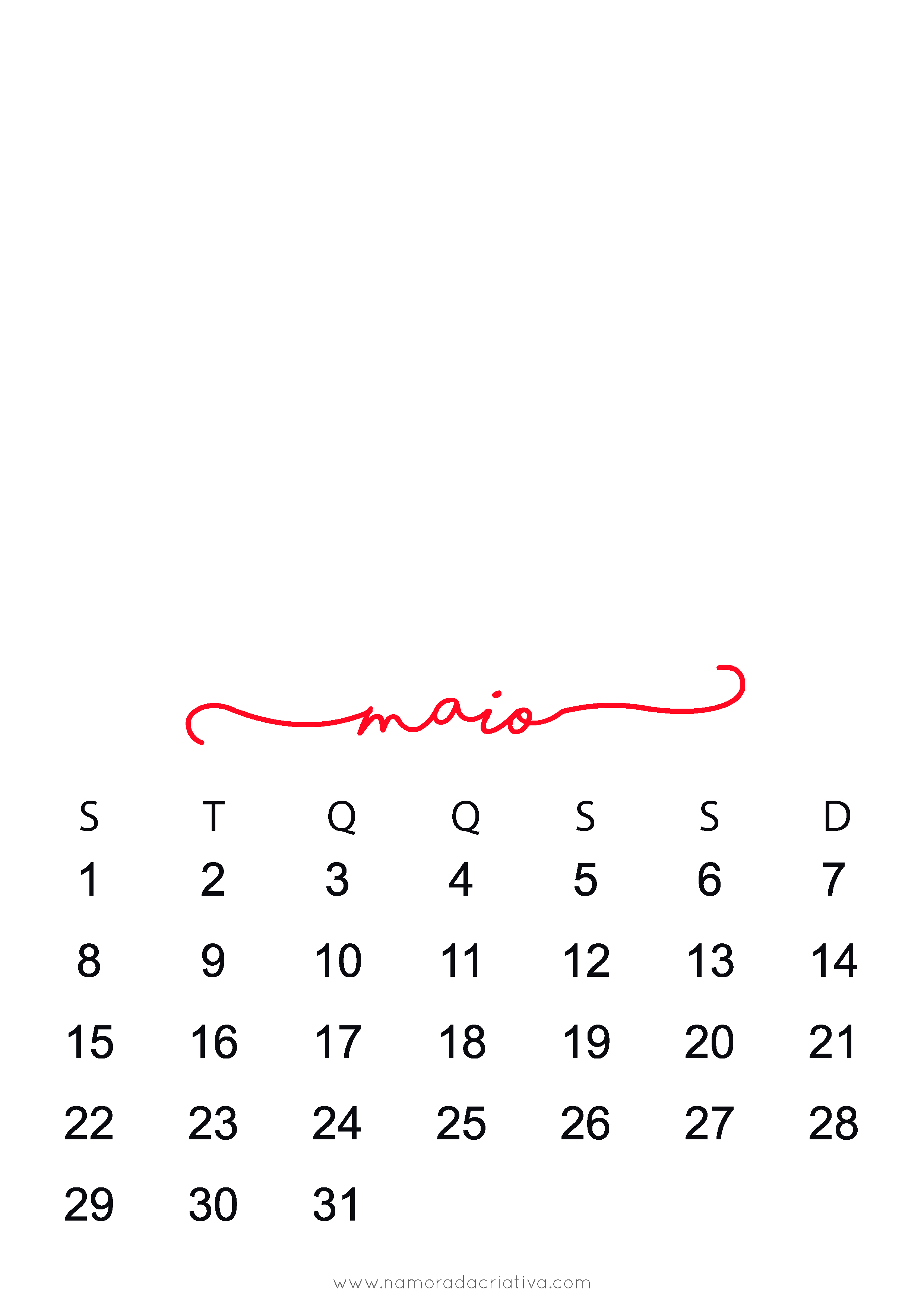 Calendario 2017 Personalizavel Namorada Criativa Por Chaiene