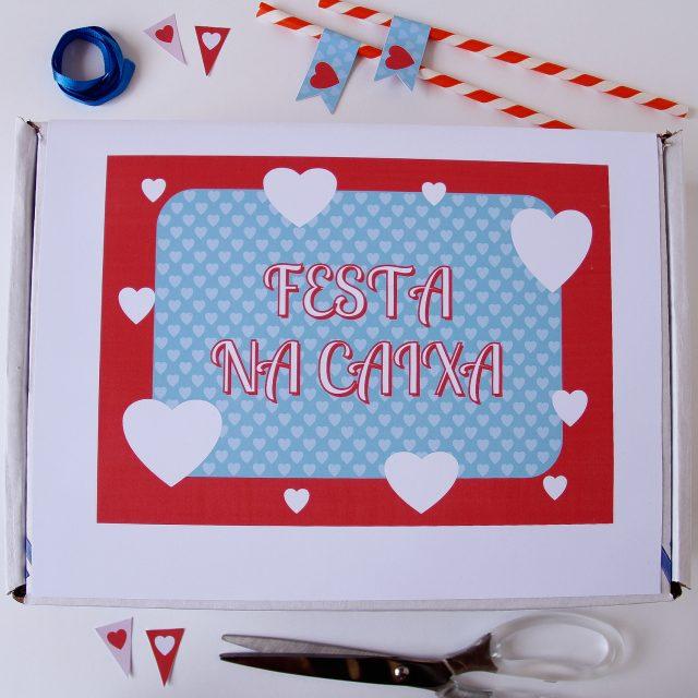 Festa na Caixa para Aniversário de Namoro