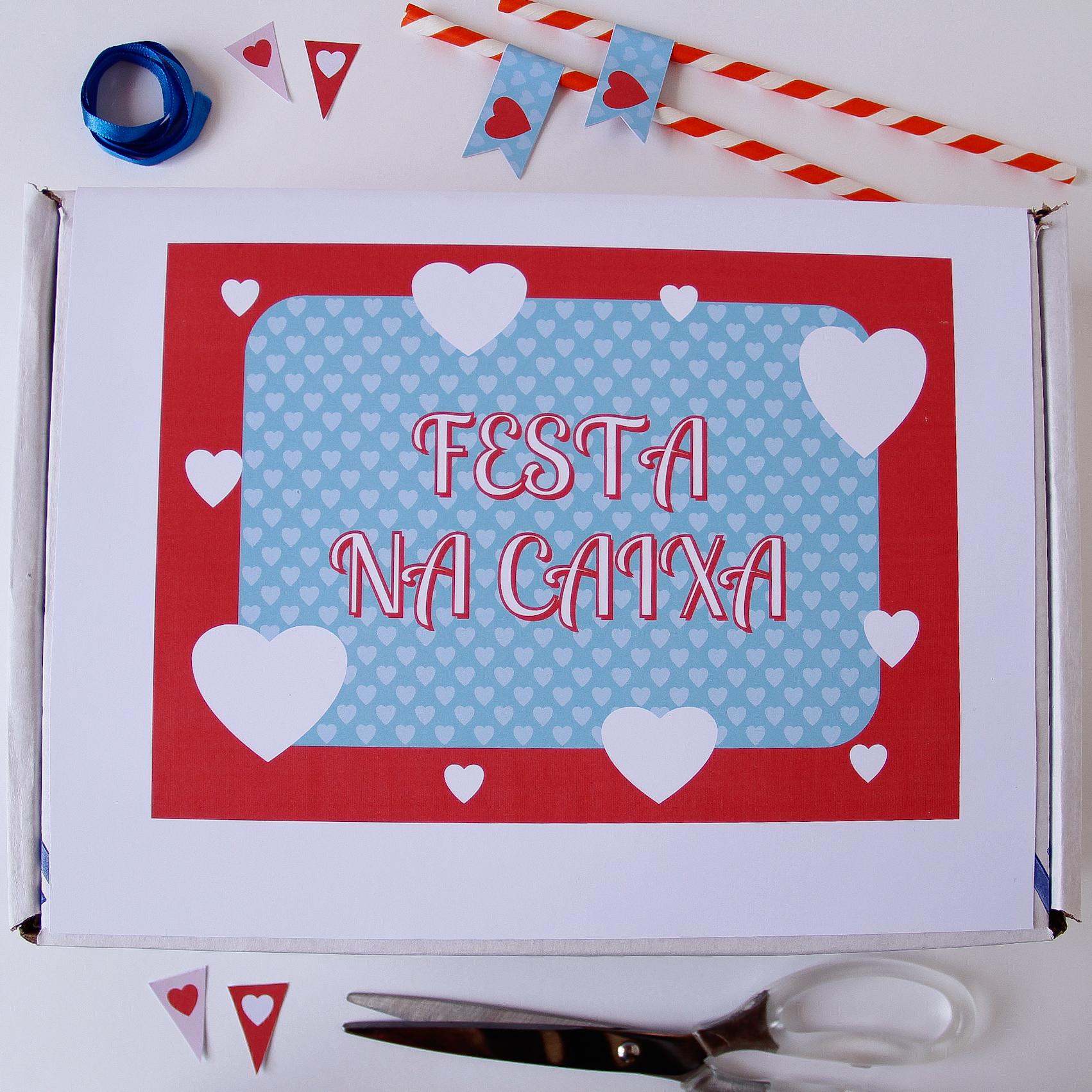 Festa Na Caixa Para Aniversario De Namoro Namorada Criativa