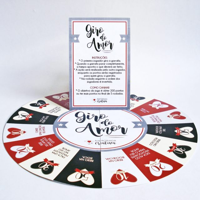 "DIY Valentine's Day: Jogo ""Giro do Amor"""
