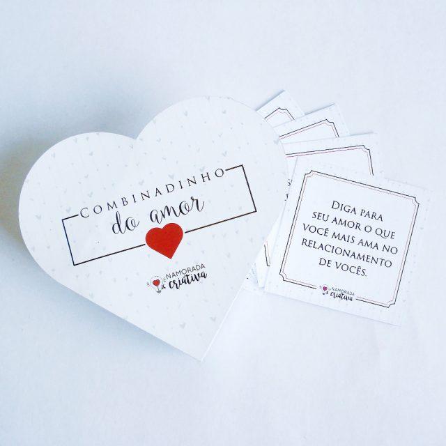 """DIY Dia dos Namorados: Jogo """"Combinadinho do amor"""""""