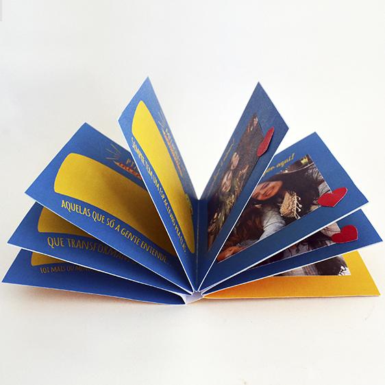 DIY: Mini Álbum para o Dia do Amigo