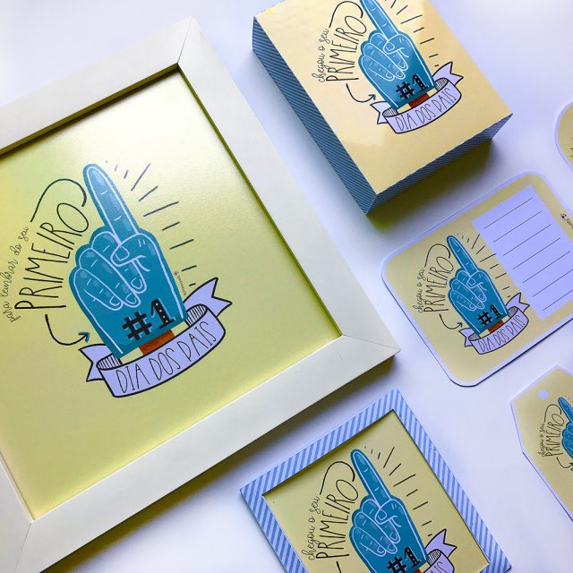 DIY: Pais de primeira viagem – cartão, caixa, tag e mais