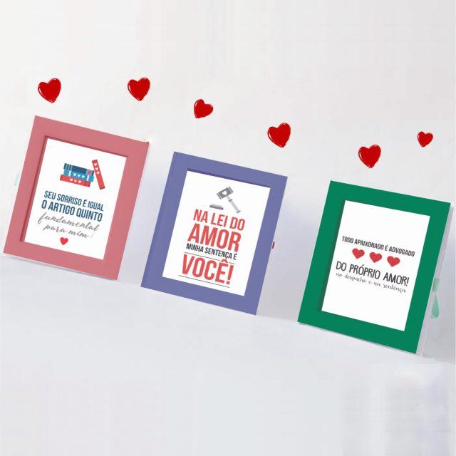 DIY: Três cartões para namorado advogado