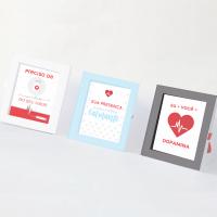 DIY: Três cartões para namorado médico