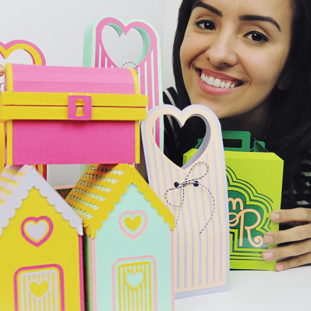 DIY: Mini coleção de caixinhas com tema AMOR