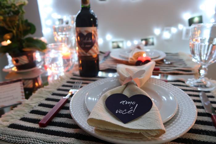 DIY: Jantar romântico para o Dia dos Namorados