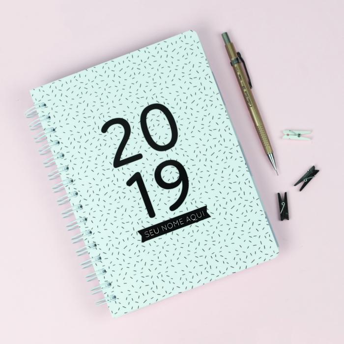 Planner 2019 Minimalista – baixe e imprima