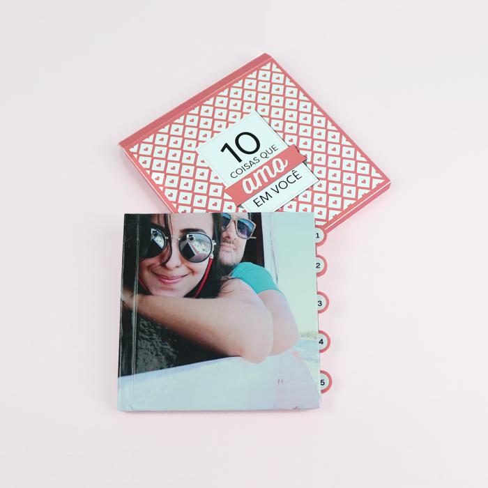 DIY: Caixa e tags para fotolivro – 10 coisas que amo em você