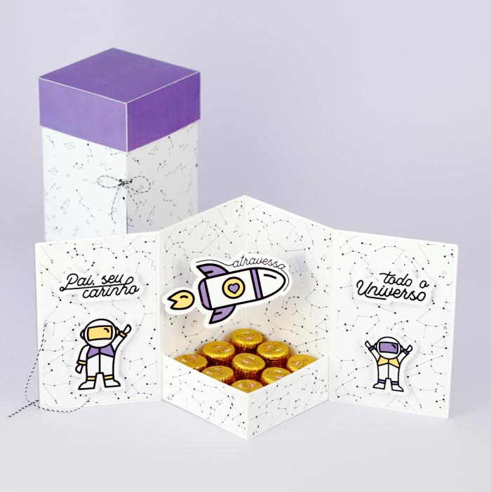 Caixa de presente para o Dia dos Pais