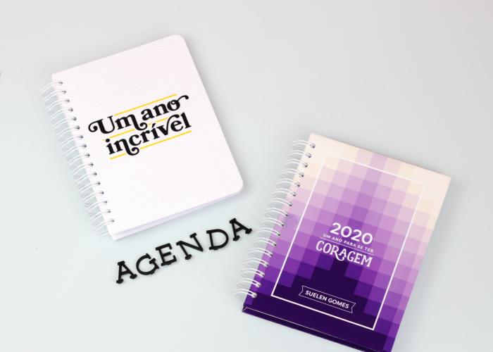 Agenda Permanente – Baixe, imprima e monte