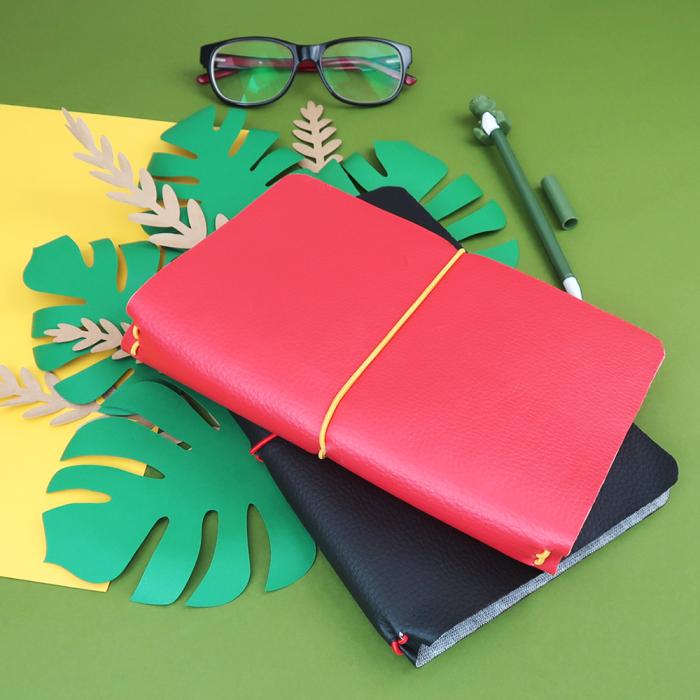 Como fazer capa traveler (midori) para planner e cadernos