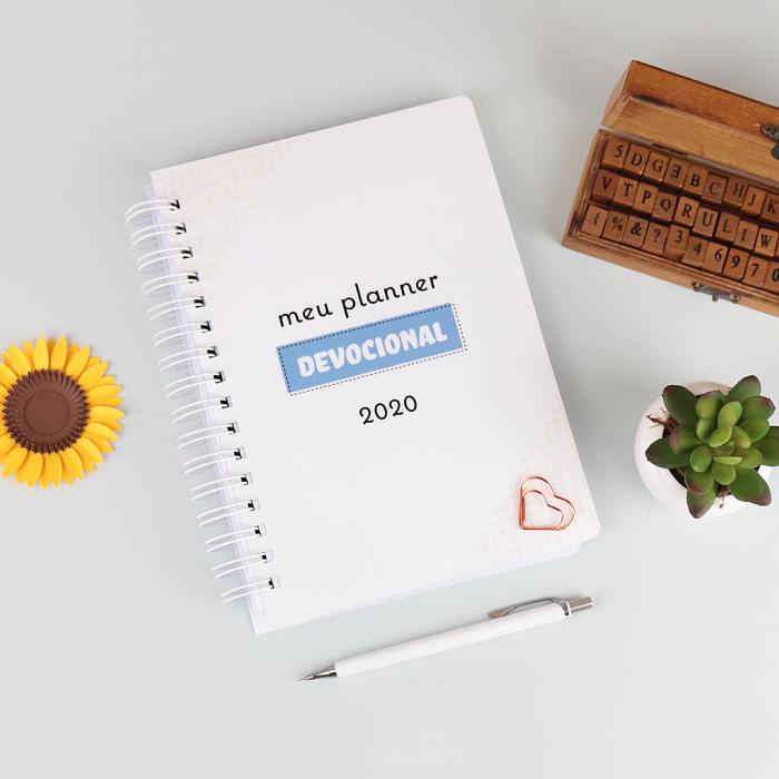 Planner Devocional para Imprimir e Montar em casa
