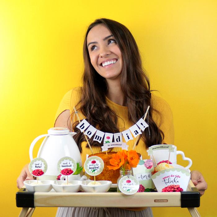 Kit Café da Manhã Surpresa para o Dia das Mães