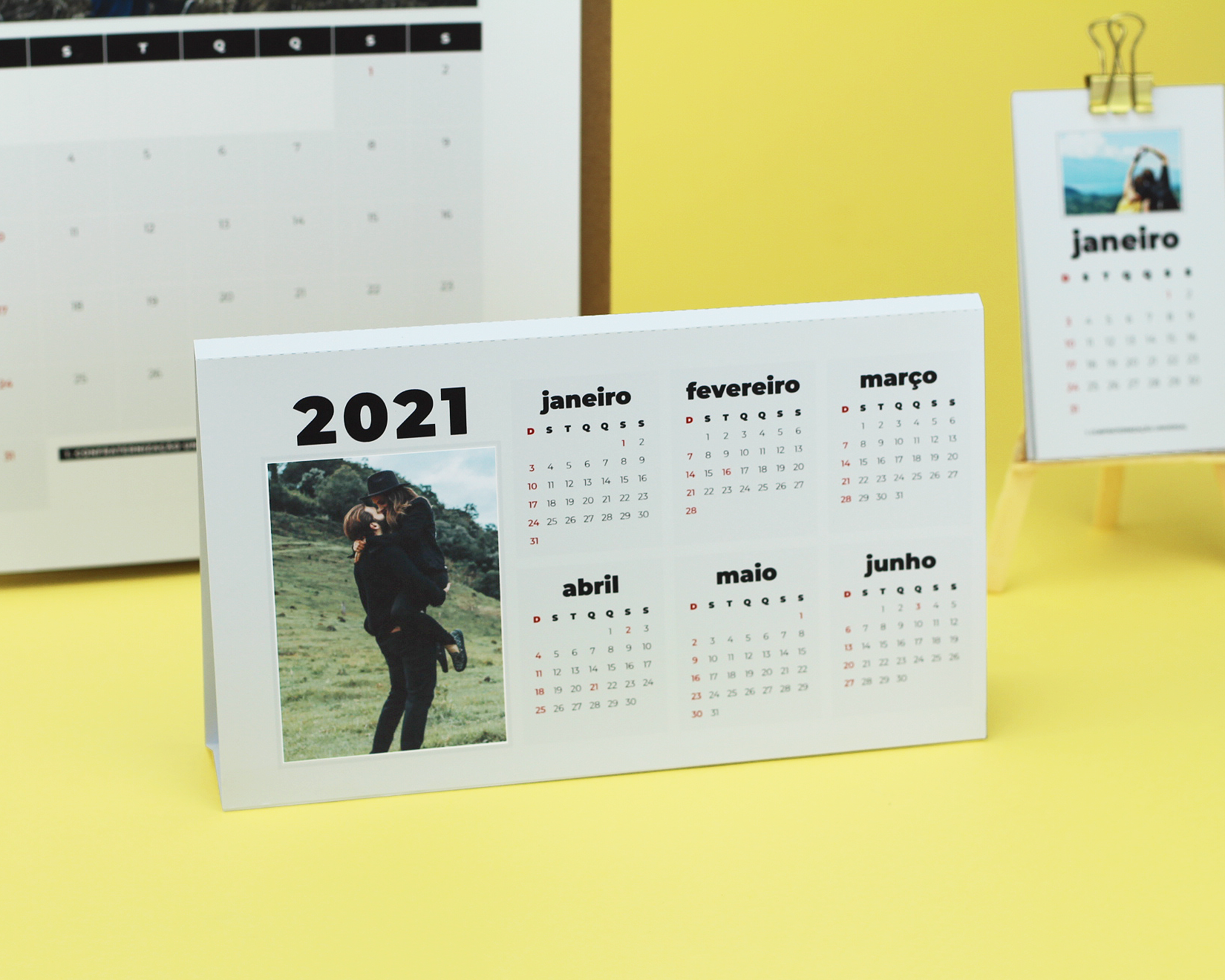 CalendáRio 2021 Criativo Calendários Personalizáveis 2021 | Namorada Criativa – Por Chaiene